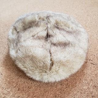 ユニクロ(UNIQLO)のUNIQLO ファーベレー帽(ハンチング/ベレー帽)
