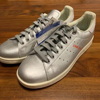 アディダス(adidas)のADIDAS Stan Smith メタリックシルバー24cm B41750(スニーカー)