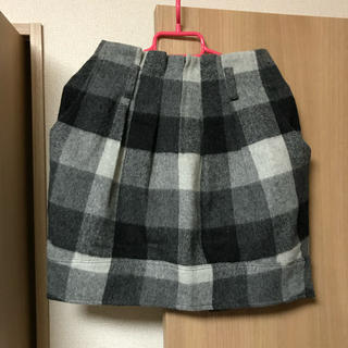 スコットクラブ(SCOT CLUB)のLASUD チェックスカート(ひざ丈スカート)