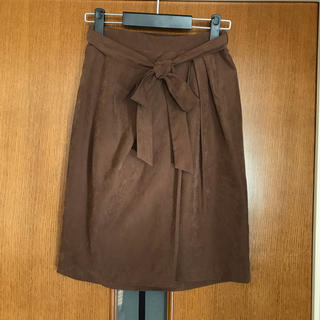 イッツデモ(ITS'DEMO)のイッツデモ ピーチスキン スカート(ひざ丈スカート)