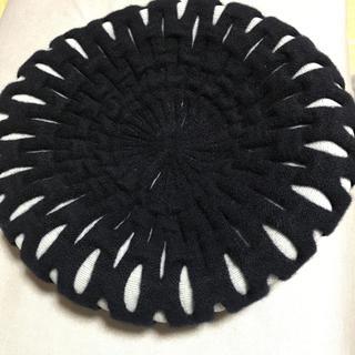 カシラ(CA4LA)のCA4LA  ウールベレー帽(ハンチング/ベレー帽)