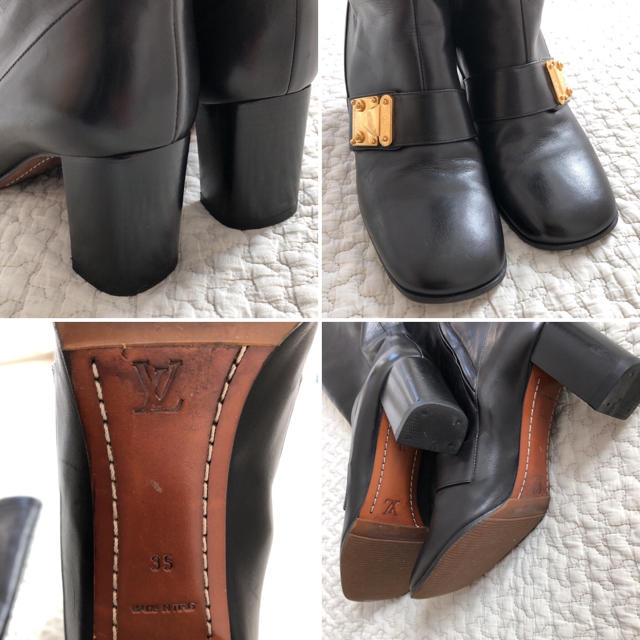 LOUIS VUITTON(ルイヴィトン)のルイヴィトン ロングブーツ 22cm レディースの靴/シューズ(ブーツ)の商品写真