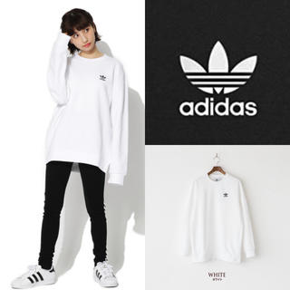 adidas - 定価8600円 アディダス ロゴ トレーナー