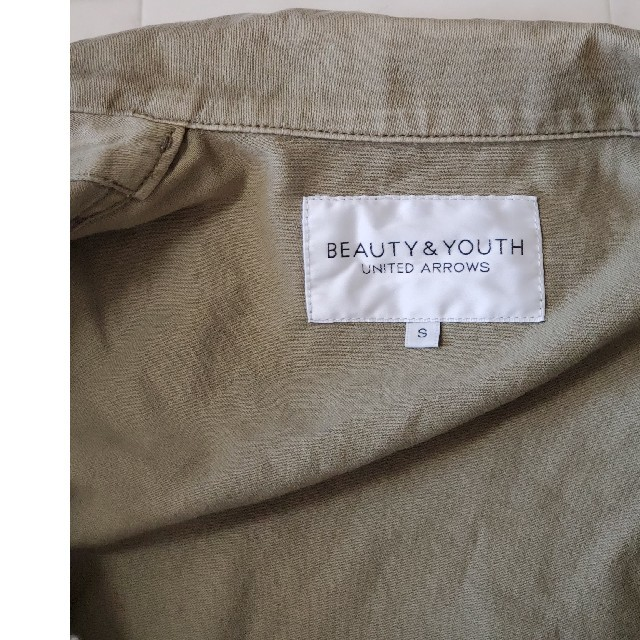 BEAUTY&YOUTH UNITED ARROWS(ビューティアンドユースユナイテッドアローズ)のBEAUTY & YOUTH UNITED ARROWS ミリタリージャケット レディースのジャケット/アウター(ノーカラージャケット)の商品写真
