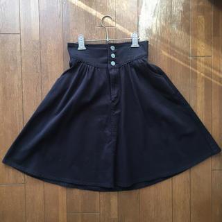 titty&co - [美品]デニムスカート フレアスカート ティティーアンドコー ブラック