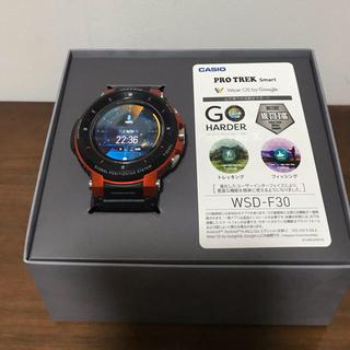 カシオ(CASIO)のPRO TREK smart WSD-f30 プロトレックスマート(腕時計(デジタル))