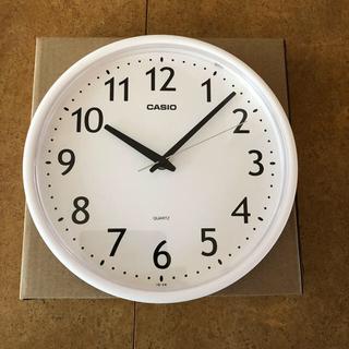 CASIO - CASIO(カシオ) 掛け時計 アナログ ホワイト