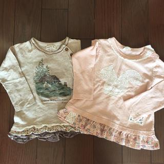 ビケット(Biquette)の女の子カットソー2枚組♡(Tシャツ/カットソー)