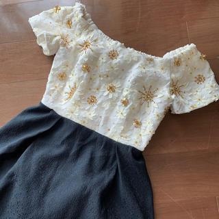 リリーブラウン(Lily Brown)のlily brown ドレス(ミニドレス)