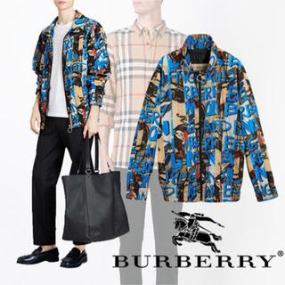 バーバリー(BURBERRY)のバーバリー-アーカイブ モチーフジャケット ウィンドジャケット(ナイロンジャケット)