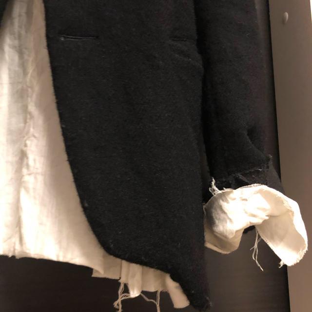 Paul Harnden(ポールハーデン)のELENA DAWSON エレナドーソン ウールジャケット メンズのジャケット/アウター(ノーカラージャケット)の商品写真