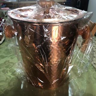 新品未使用シャンパンクーラー(ワインクーラー)4.4L 銅製