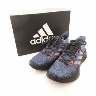 アディダス(adidas)のadidas スニーカーセンスバウンス +m 25.5cm 青(スニーカー)