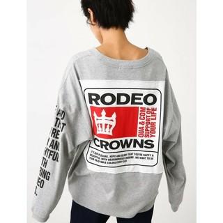 RODEO CROWNS - ロデオクラウンズ ロンTグレー