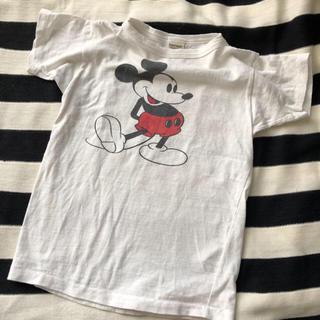 DENIM DUNGAREE - デニム&ダンガリー  MickeyコラボTシャツ 140