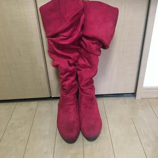 ロングブーツ Mサイズ 23㎝(ブーツ)