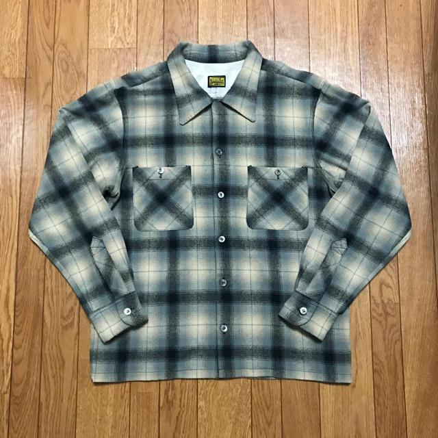 TENDERLOIN(テンダーロイン)のキムタク着 テンダーロイン  ウールチェックシャツ 木村拓哉 メンズのトップス(シャツ)の商品写真