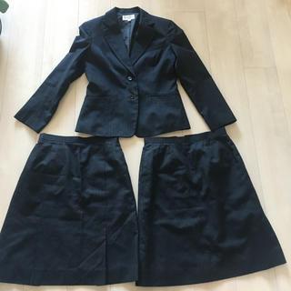 ナチュラルビューティーベーシック(NATURAL BEAUTY BASIC)のスーツ3点セット オンワード7号(スーツ)