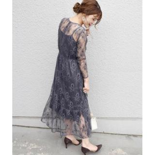 アーバンリサーチロッソ(URBAN RESEARCH ROSSO)の翌日発送❣️ships×Rosso kaene総レースワンピース 結婚式ドレス (ロングワンピース/マキシワンピース)