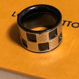 LOUIS VUITTON - ルイヴィトン LOUIS VUITTON 正規品 ダミエパーフォレ リング 指輪