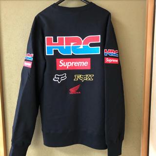 シュプリーム(Supreme)のSupreme Honda Fox Racing Crewneck(スウェット)