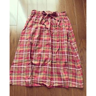 SM2 - SM2 チェック 巻きスカート