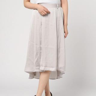 titty&co - 新品 ティティ&コー ヴィンテージサテンスカート グレー