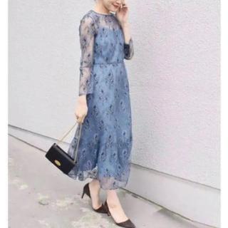 アーバンリサーチロッソ(URBAN RESEARCH ROSSO)のships×Rosso kaene総レースワンピース 新品タグ付き 結婚式ドレス(ロングドレス)