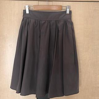 NATURAL BEAUTY BASIC - ウエストゴムギャザースカート