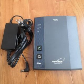エヌイーシー(NEC)のWi-Fi無線LANルーター   NEC AtermWR8370N(PC周辺機器)