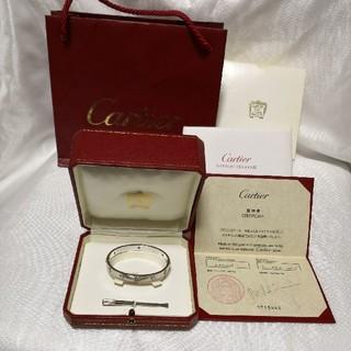 カルティエ(Cartier)のカルティエ ラブブレス(ブレスレット)