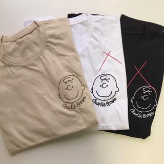 PEANUTS - ラスト1点 チャーリーブラウン Tシャツ