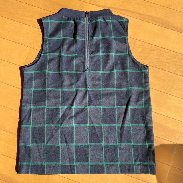 M.deux(エムドゥー)の新品 チェック柄カットソー レディースのトップス(カットソー(半袖/袖なし))の商品写真