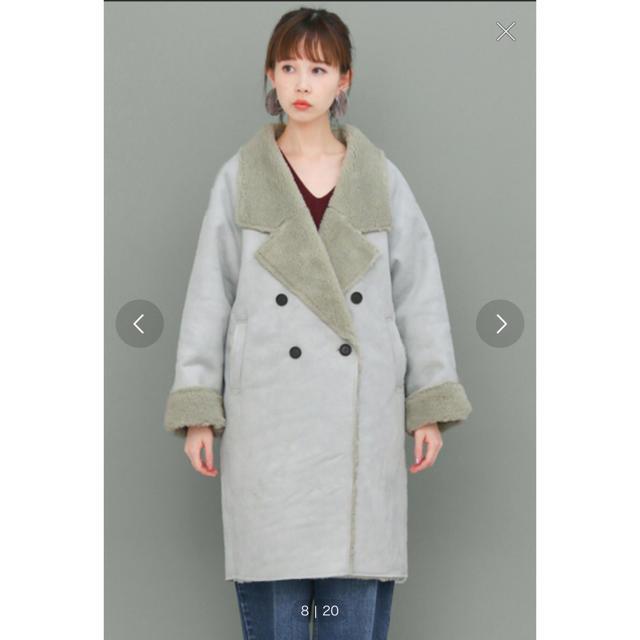 KBF(ケービーエフ)の20日までの出品♡ KBF ♡ ムートンコート レディースのジャケット/アウター(ムートンコート)の商品写真