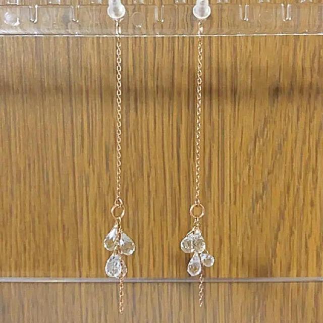 NOJESS(ノジェス)のノジェス k10 アメリカンピアス レディースのアクセサリー(ピアス)の商品写真