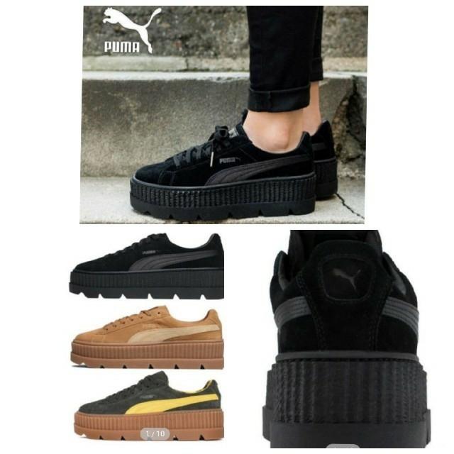 PUMA(プーマ)のPUMA  プーマ 『FENTY  by リアーナ』BLACK レディースの靴/シューズ(スニーカー)の商品写真