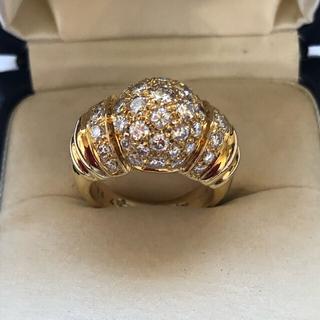 ブシュロン(BOUCHERON)のブシュロン ダイヤリング 18K  美品(リング(指輪))