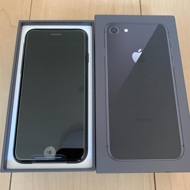 Apple(アップル)の新品未使用 iPhone8 64GB SIMフリー スマホ/家電/カメラのスマートフォン/携帯電話(スマートフォン本体)の商品写真