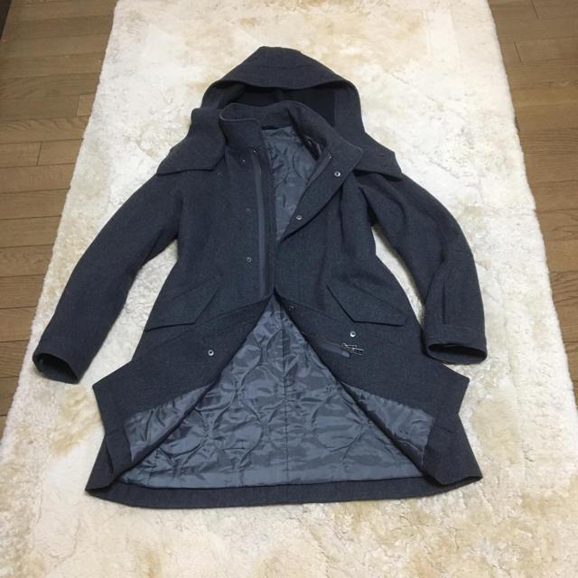 UNITED ARROWS(ユナイテッドアローズ)のアローズのフード付きコート レディースのジャケット/アウター(ピーコート)の商品写真