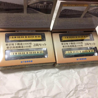 トミー(TOMMY)の東京メトロ 東京地下鉄道1000形・東京高速鉄道100形 2両セット 2箱 (鉄道模型)
