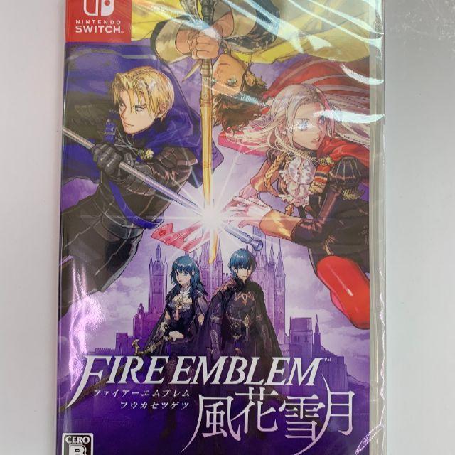 Nintendo Switch(ニンテンドースイッチ)の新品 Switchファイアーエムブレム 風花雪月 即購入OK エンタメ/ホビーのゲームソフト/ゲーム機本体(家庭用ゲームソフト)の商品写真