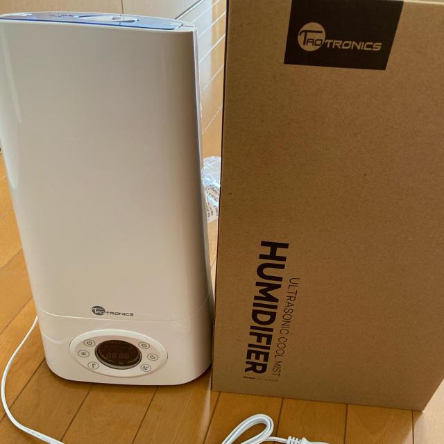 taotronics 加湿器 TT-AH004 タオトロニクス タイマー付き スマホ/家電/カメラの生活家電(加湿器/除湿機)の商品写真