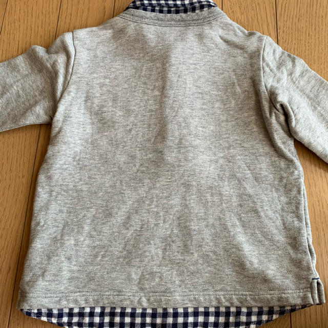 mikihouse(ミキハウス)のミキハウス プッチーくん 美品 刺繍 ワッペン キッズ/ベビー/マタニティのキッズ服 男の子用(90cm~)(Tシャツ/カットソー)の商品写真