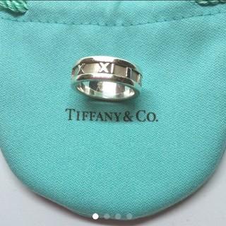 ティファニー(Tiffany & Co.)の*正規品*ティファニー アトラスリング☆指輪☆美品保存袋付き!(リング(指輪))