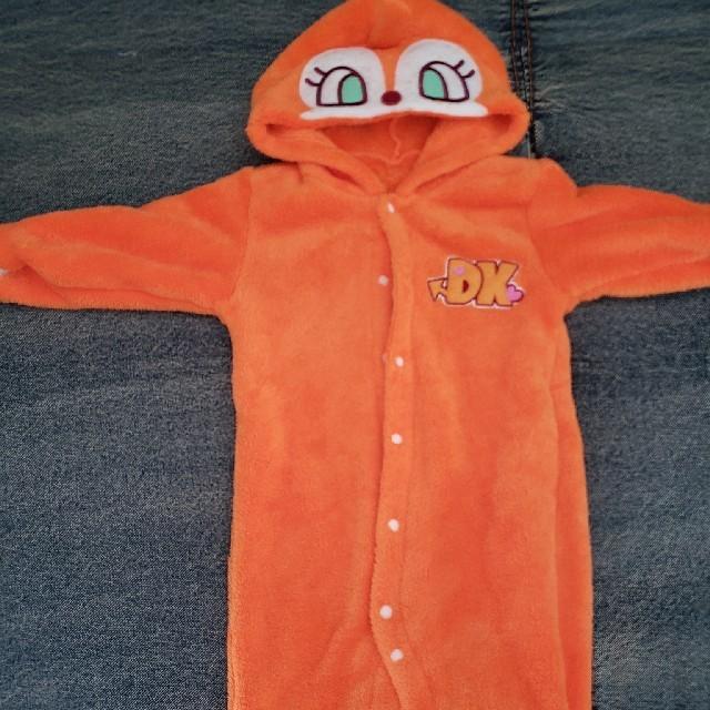ドキンちゃん♡フリースロンパース キッズ/ベビー/マタニティのベビー服(~85cm)(ロンパース)の商品写真