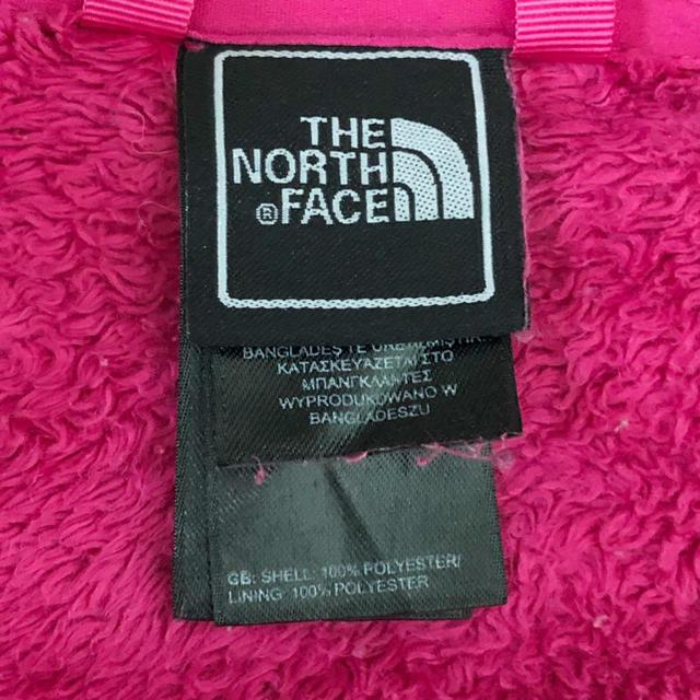 THE NORTH FACE(ザノースフェイス)のTHE NORTH FACE ザノースフェイス★ボアフリース ジップアップ キッズ/ベビー/マタニティのキッズ服 女の子用(90cm~)(ジャケット/上着)の商品写真
