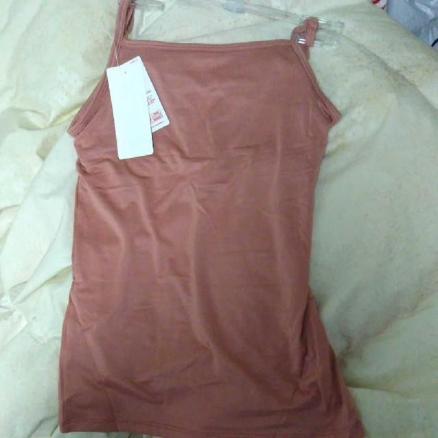 UNIQLO(ユニクロ)のユニクロ ヒートテックブラトップキャミソール ピンク 150 キッズ/ベビー/マタニティのキッズ服 女の子用(90cm~)(下着)の商品写真