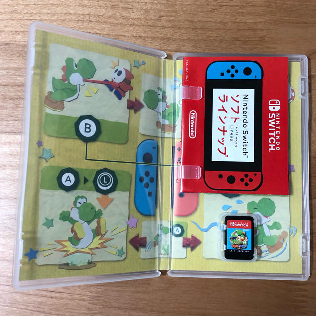 Nintendo Switch(ニンテンドースイッチ)のヨッシークラフトワールド エンタメ/ホビーのゲームソフト/ゲーム機本体(家庭用ゲームソフト)の商品写真