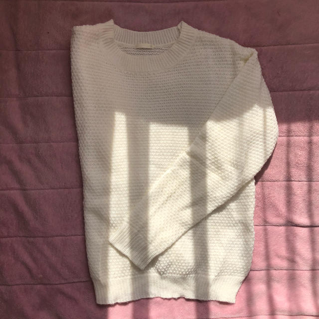 GU(ジーユー)のGU 長袖ニット レディースのトップス(ニット/セーター)の商品写真