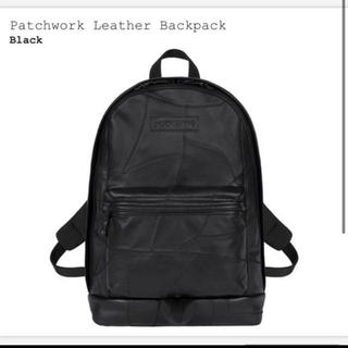 シュプリーム(Supreme)のシュプリームSupreme Patchwork Leather Backpack(バッグパック/リュック)